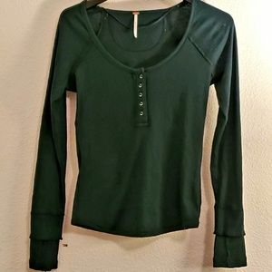 Free people Henley in medium